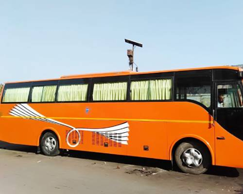 56 Seater Luxury Bus on Rent