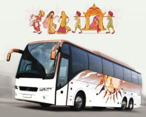Bus Hire for Wedding in Jaipur