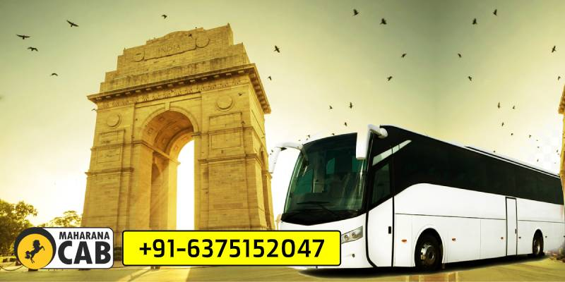 bus rental hire jaipur