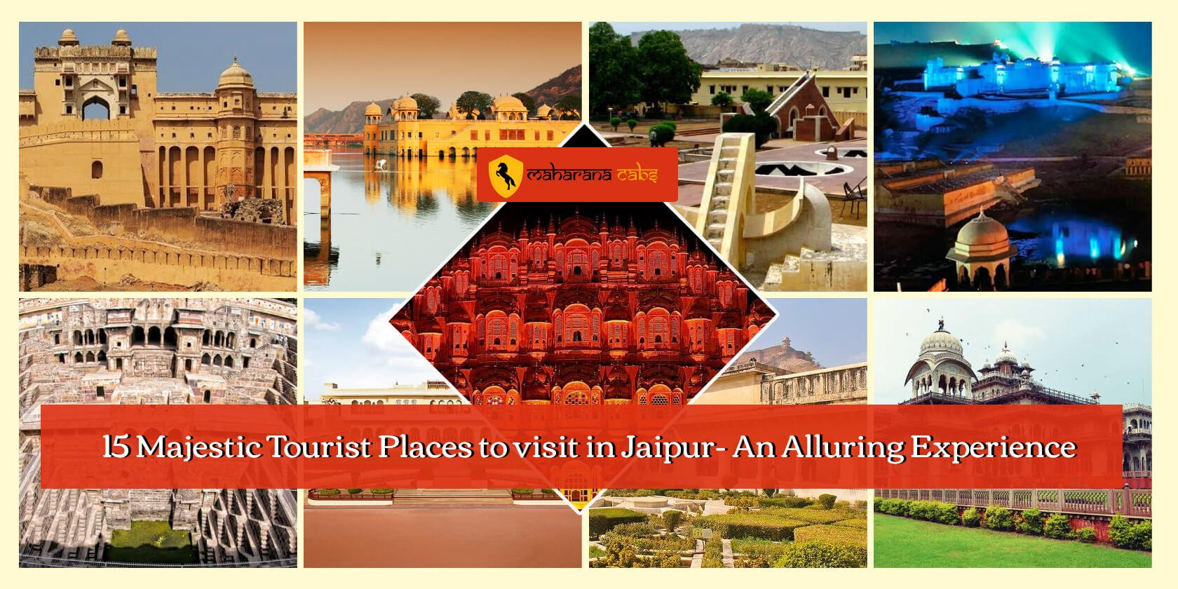 15 Majestic Tourist Places to visit in Jaipur