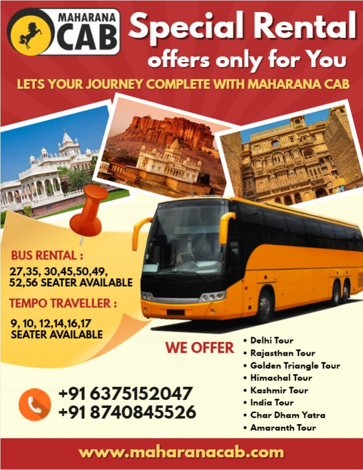 Bus Rental Services in Ajmer