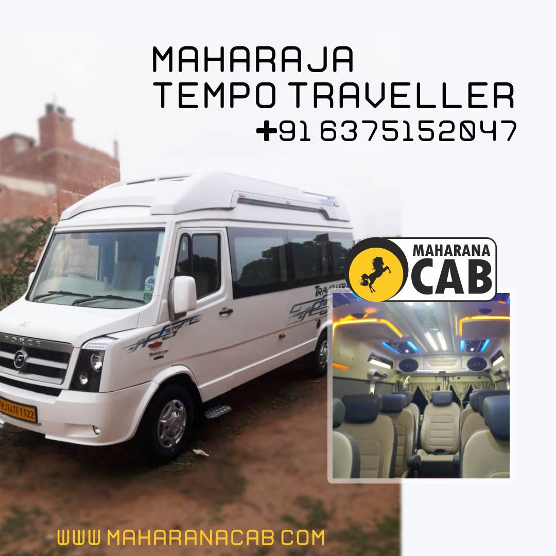 Maharaja tempo traveller jaipur