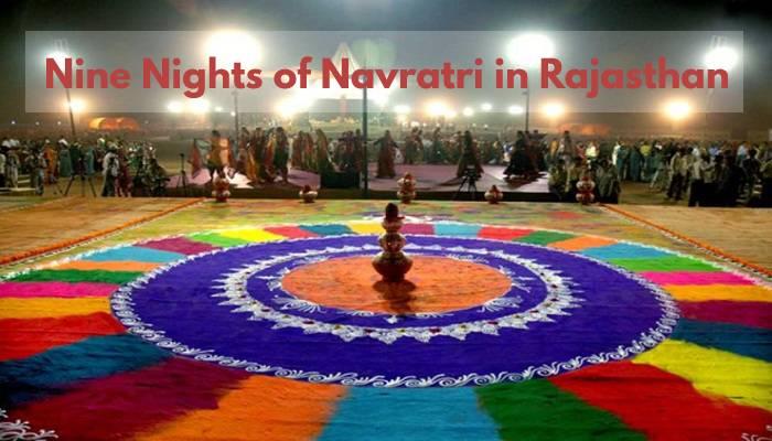 nine nights of navratri in rajasthan