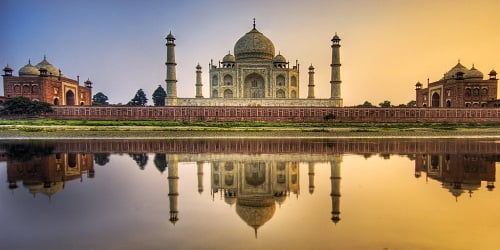 8 hours tour of agra