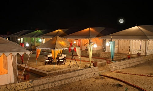 Jeep Safari with Dinner, Dance and Transfers and camp stay