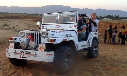 One hour jeep safari tour
