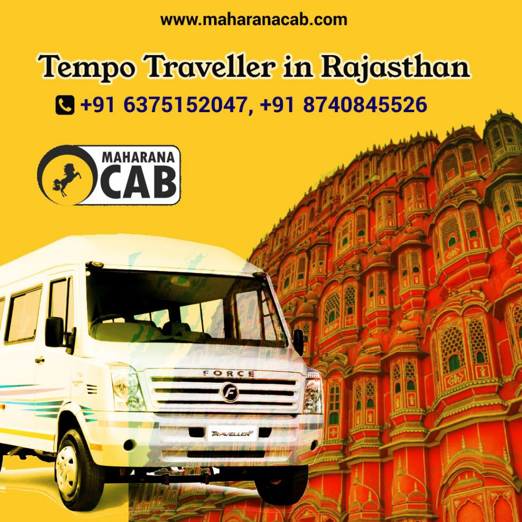 Tempo Traveller in Rajasthan