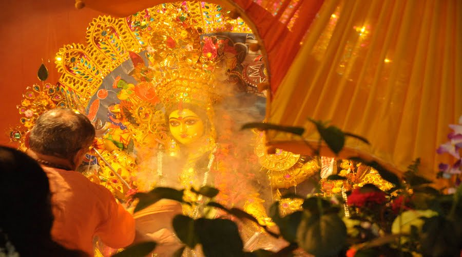 durga puja celebration in india