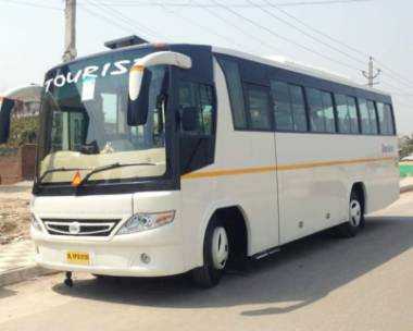 20,21 Seater Bus on Rent