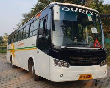 56_seater_bus rental in jaipur