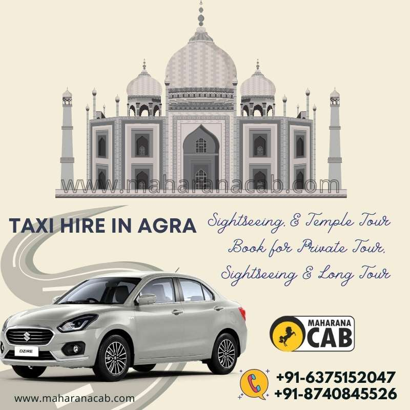 taxi rental in agra