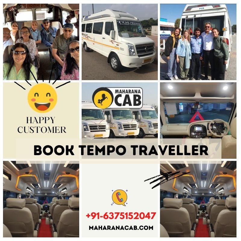 tempo traveller in jaipur