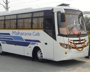 mini bus rental in jaipur