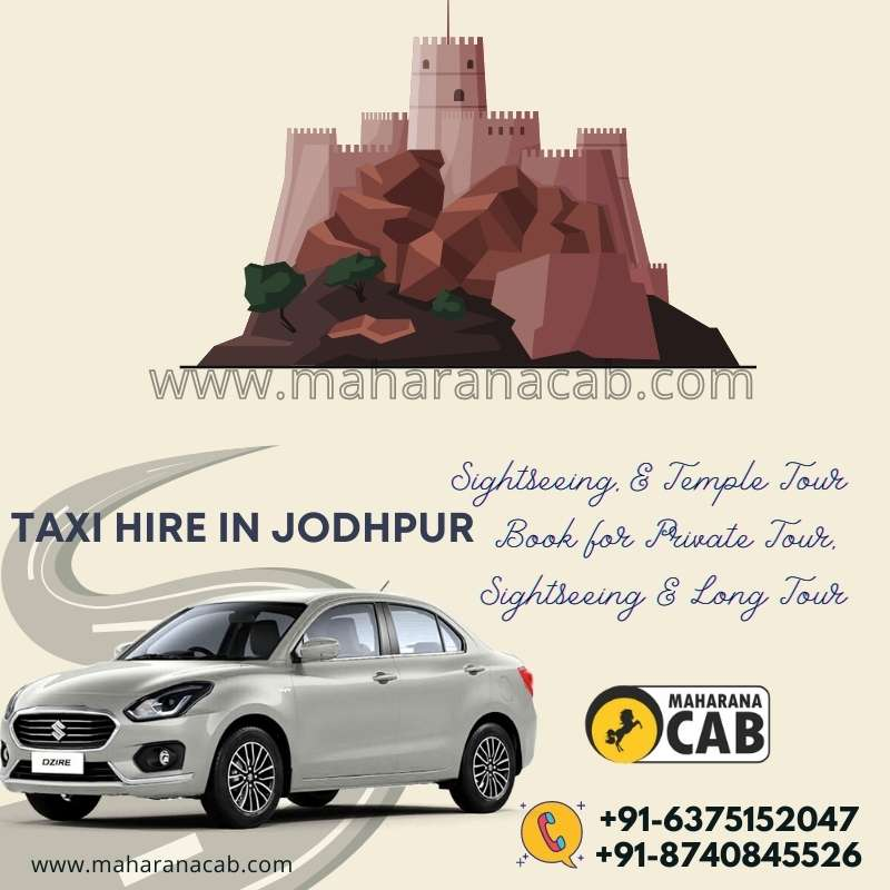 Jodhpur Car Rental from Maharana Cabs