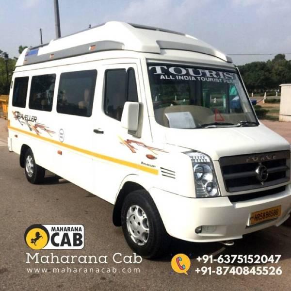 tempo traveller maharana cab