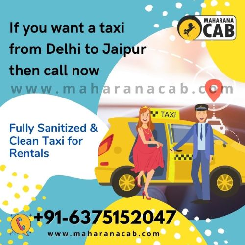 Jaipur to Delhi one way Taxi Service