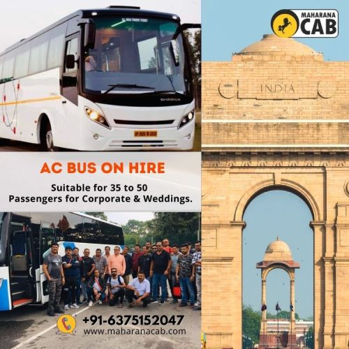 bus rental in delhi